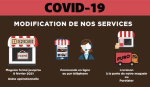 règles concernant la Covid-19